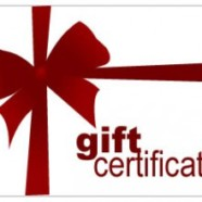 Gift Certificate for One